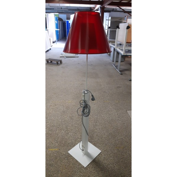 LAMPADAIRE ROUGE OCCASION