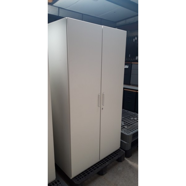 ARMOIRE BLANCHE MELAMINEE OCCASION