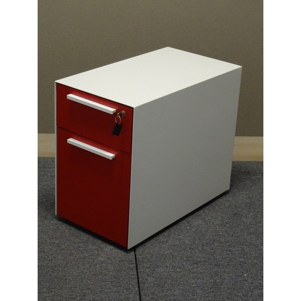 CAISSON MOBILE ROUGE NEUF DECLASSE