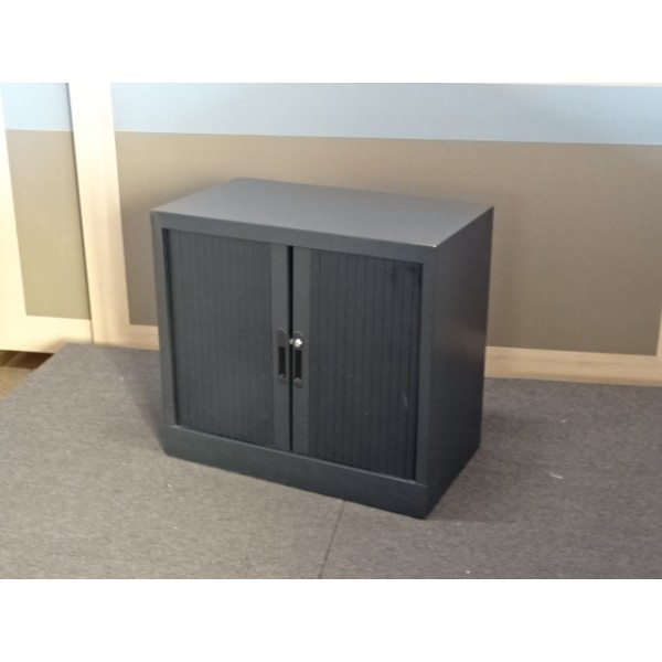 ARMOIRE BASSE ANTHRACITE OCCASION