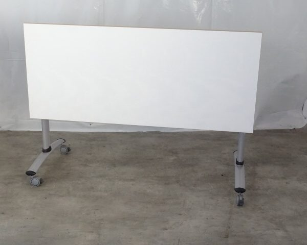 TABLE BLANCHE RABATTABLE OCCASION