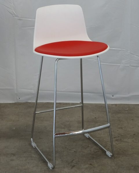TABOURET ROUGE OCCASION